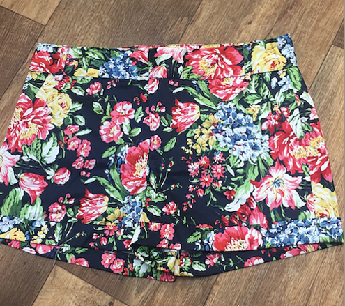 floral shorts - Indigeaux