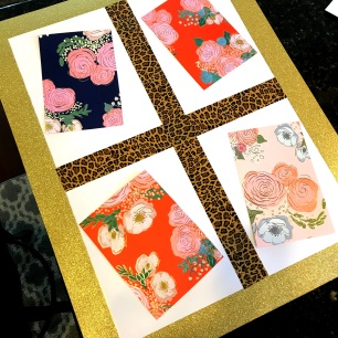 Loved these floral file folders!