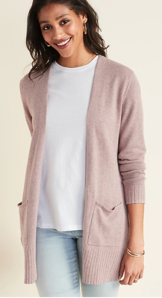 Sweater in mauve 1