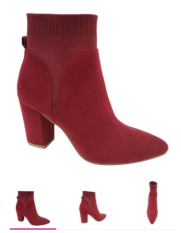 T&T Bootie Red