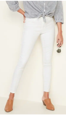white ankle jeans 1